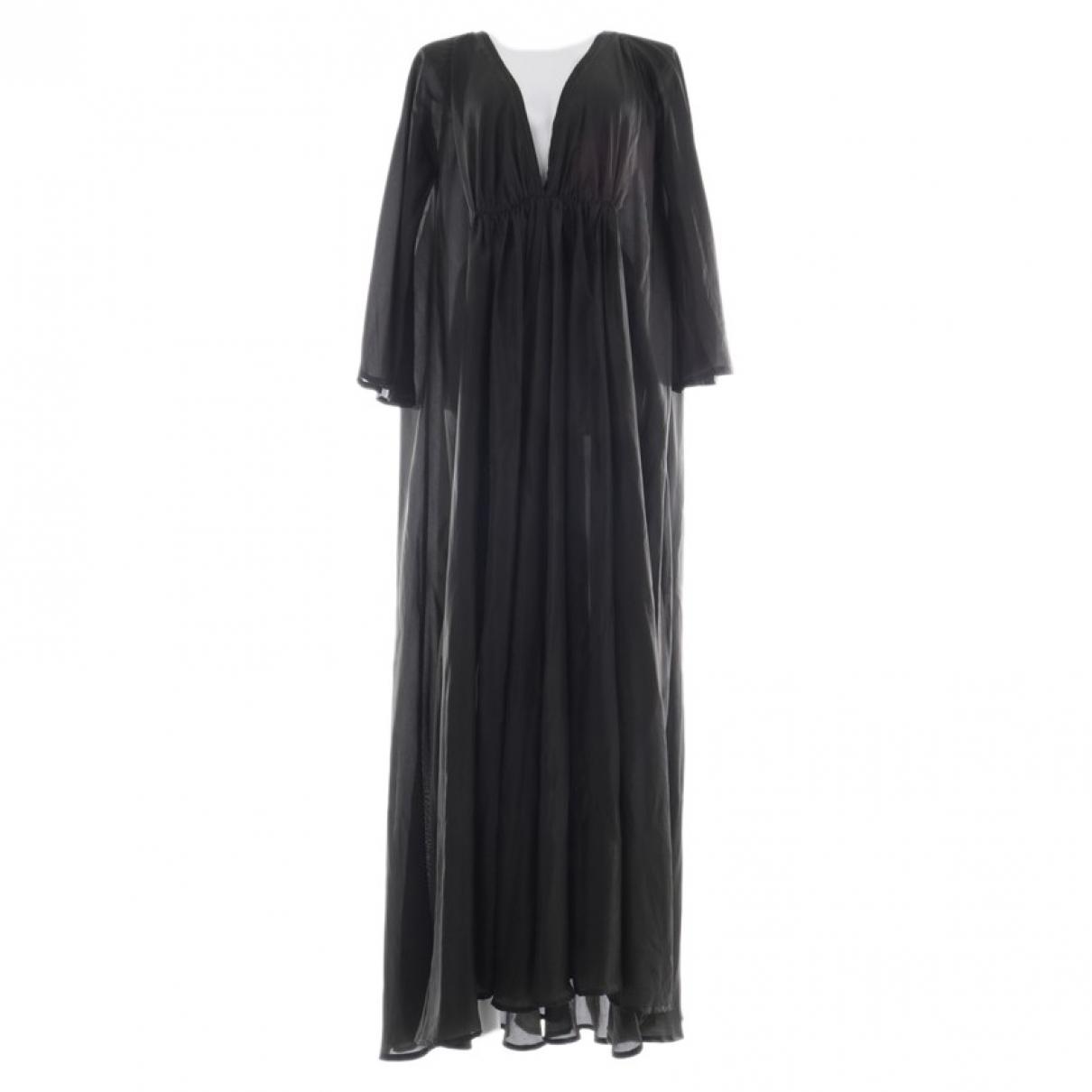 Kalita \N Kleid in  Schwarz Seide