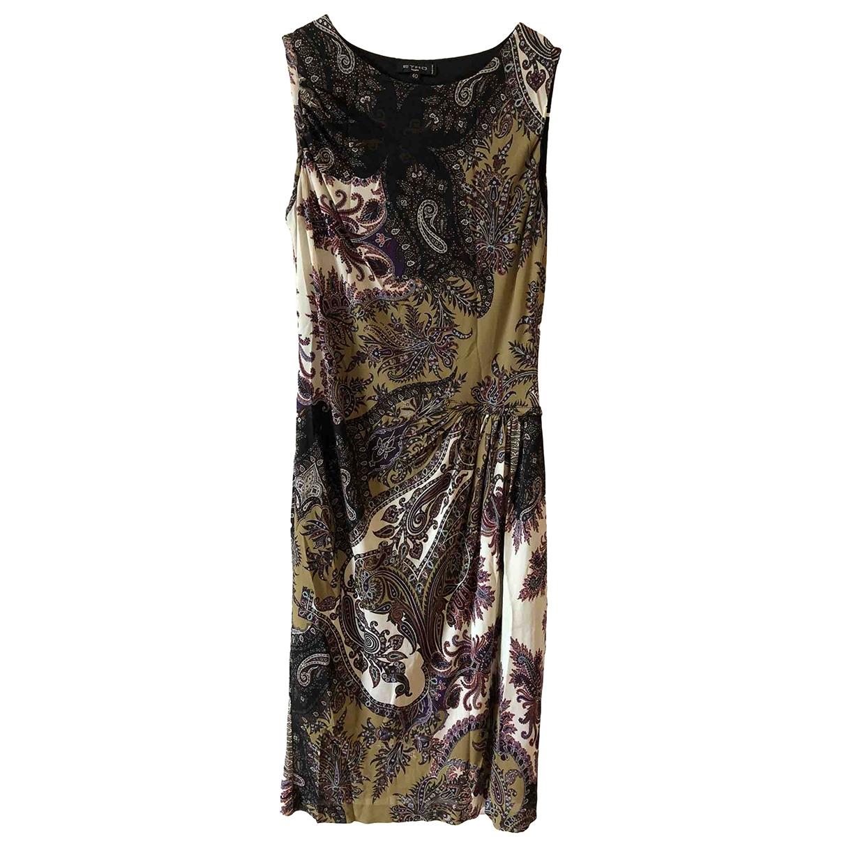 Etro \N Black dress for Women 40 IT
