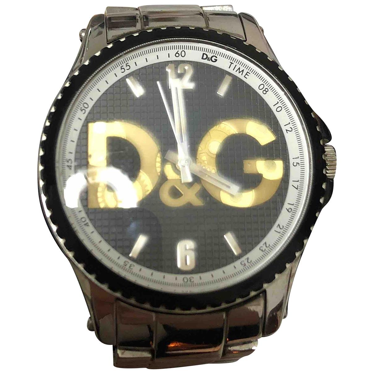 Dolce & Gabbana - Montre   pour homme en acier