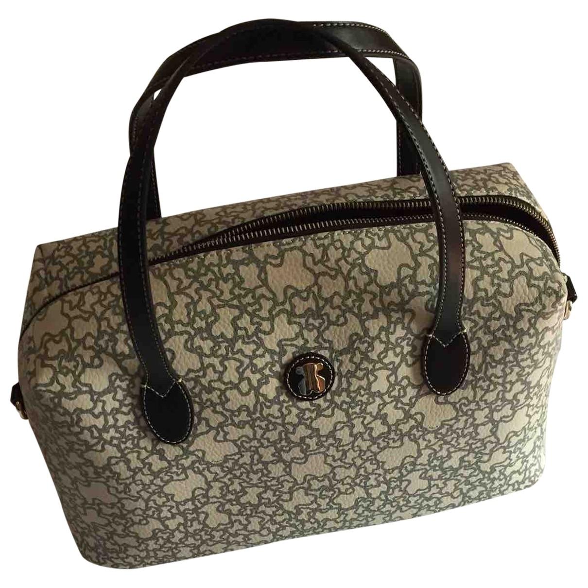 Atelier Tous \N Handtasche in  Beige Leder