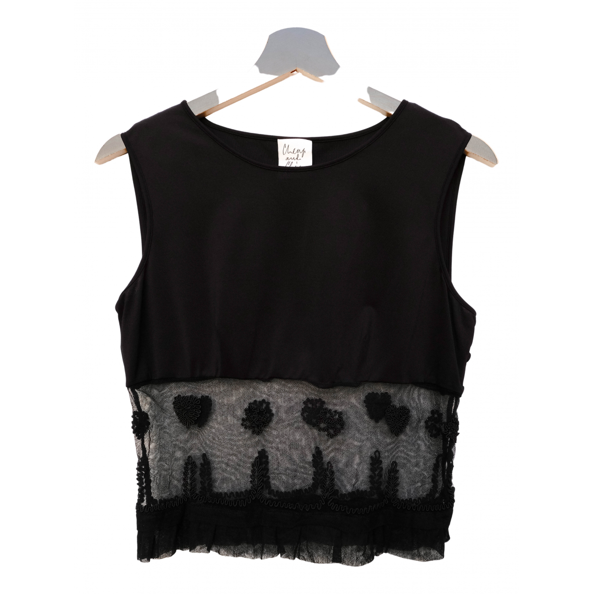 Moschino Cheap And Chic \N Black  top for Women M International