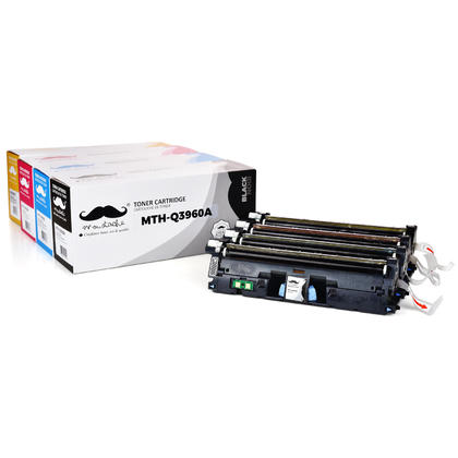 Compatible HP Color LaserJet 2550 Toner HP Q3960A Q3961A Q3962A Q3963A Combo BK/C/M/Y