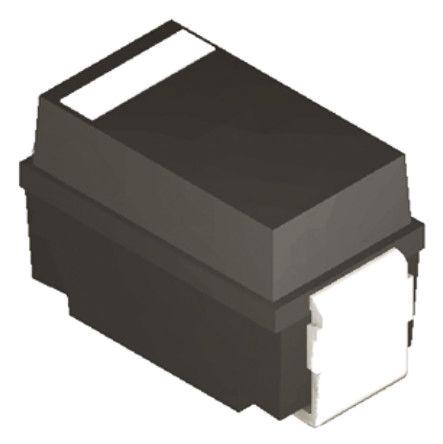 DiodesZetex Diodes Inc SMAJ43CA-13-F, Bi-Directional TVS Diode, 400W, 2-Pin DO-214AC (25)
