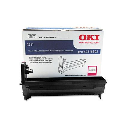 Okidata 44318502 Type C16 Original Magenta Drum for C711 Printer