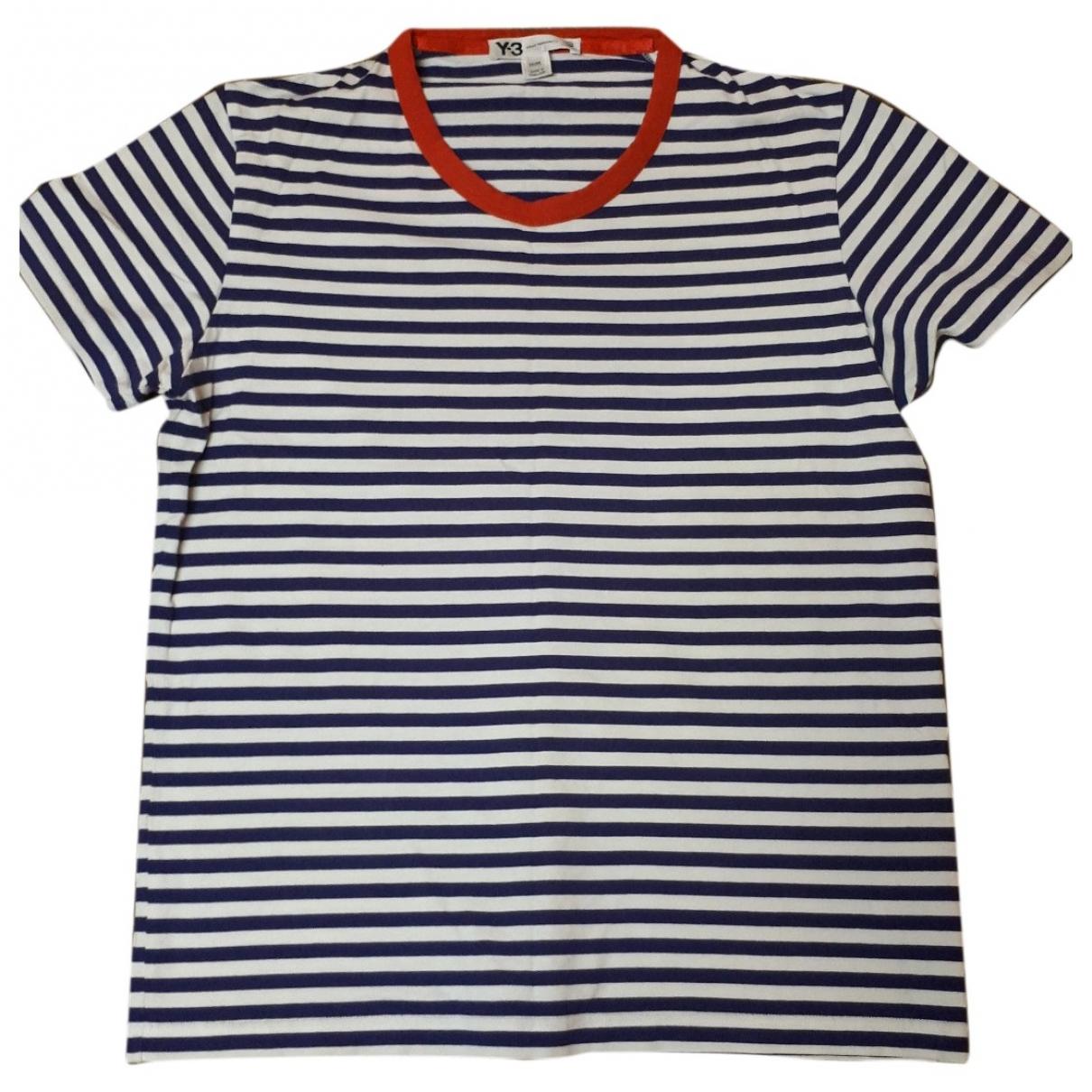 Y-3 - Tee shirts   pour homme en coton - blanc