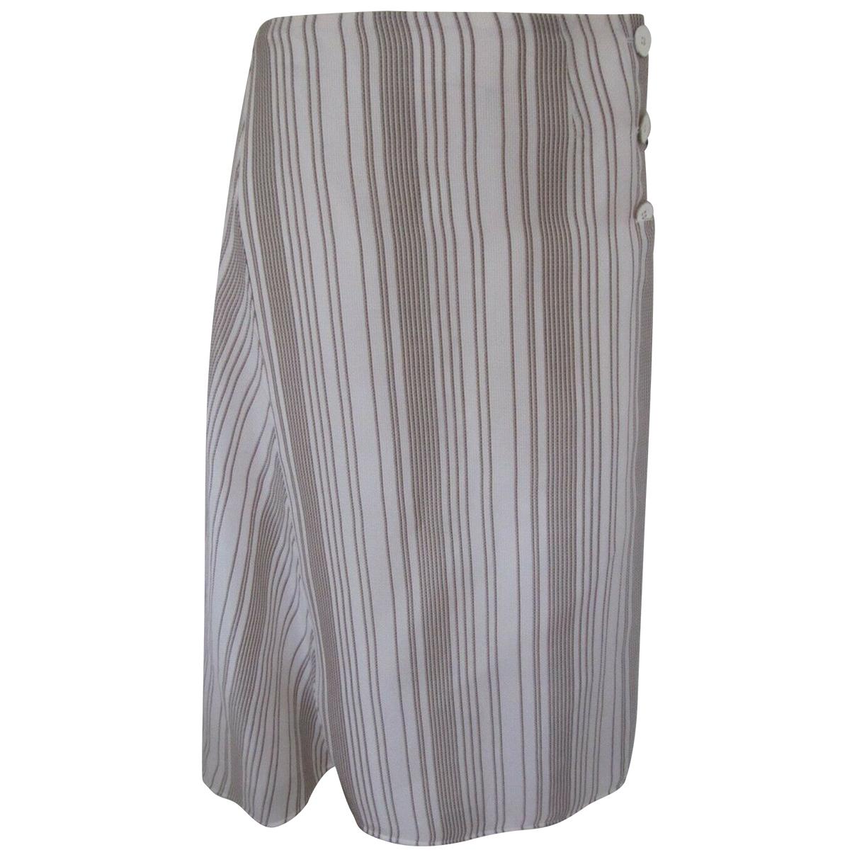 Jil Sander N Multicolour Silk skirt for Women 38 FR