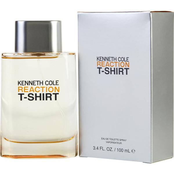 Kenneth Cole Reaction T-shirt - Kenneth Cole Eau de toilette en espray 100 ML