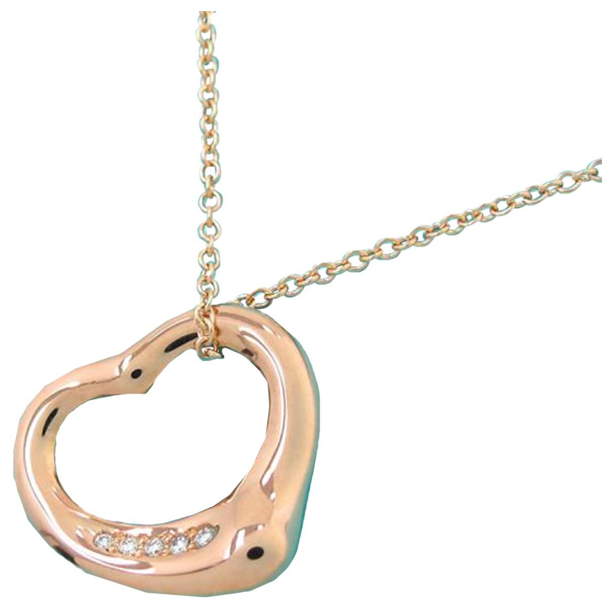 Tiffany & Co - Collier   pour femme en or rose