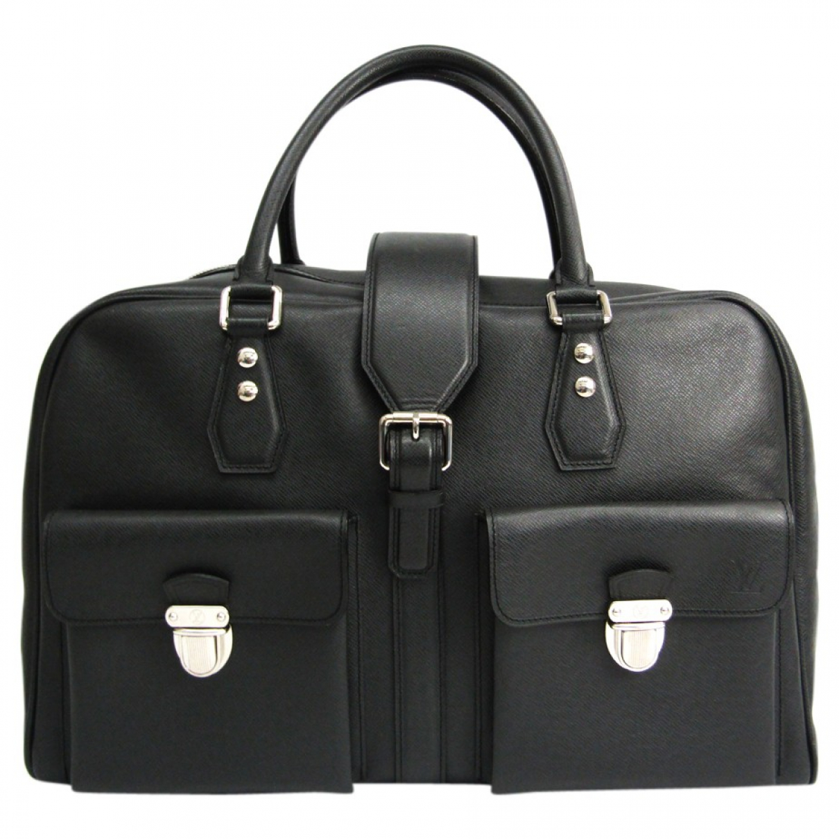 Louis Vuitton N Anthracite Leather Travel bag for Women N