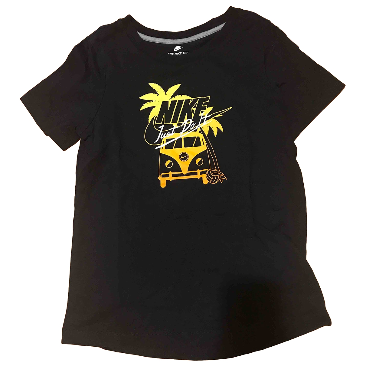 Nike \N Black Cotton  top for Women 36 FR
