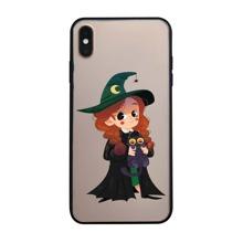 Halloween iPhone Huelle mit Figur Grafik