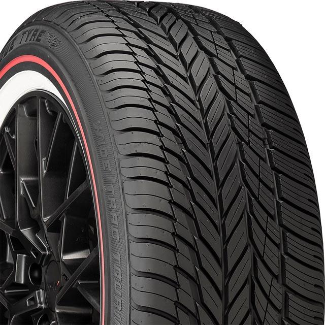 Vogue 02113201 Custom Built Radial VIII RW Tire 275/55 R20 117HxL RED
