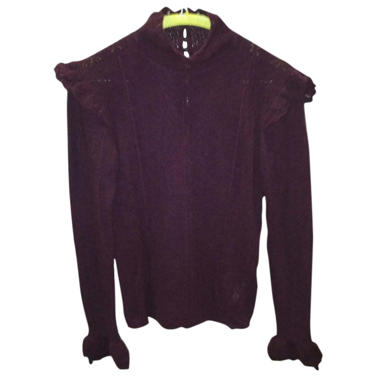 Polo Ralph Lauren - Pull   pour femme en laine - violet