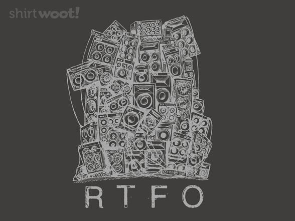 Rtfo Remix - Asphalt T Shirt