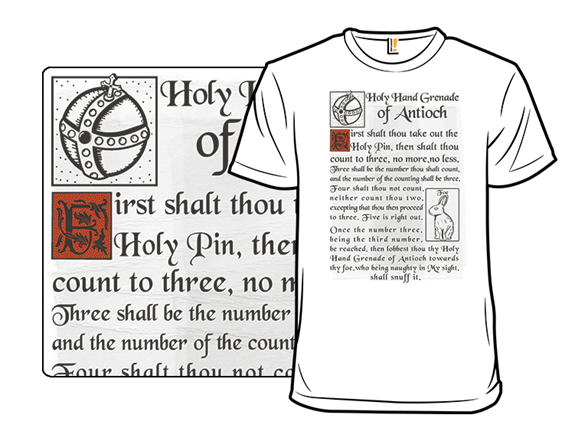 Holy Instructions T Shirt