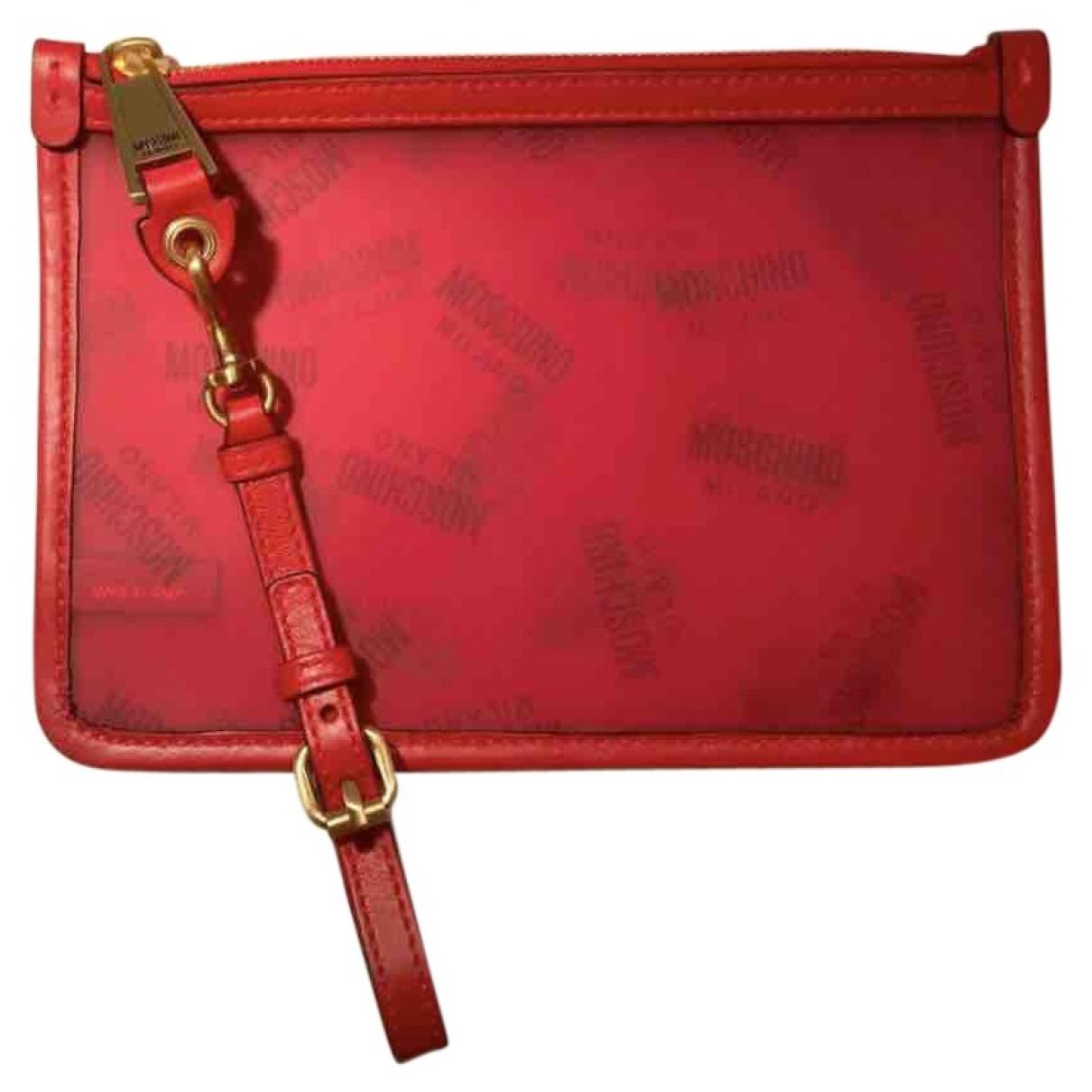 Moschino \N Red Clutch bag for Women \N