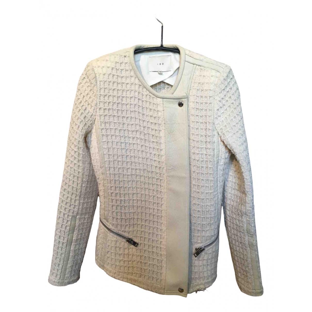 Iro - Veste   pour femme en laine - ecru