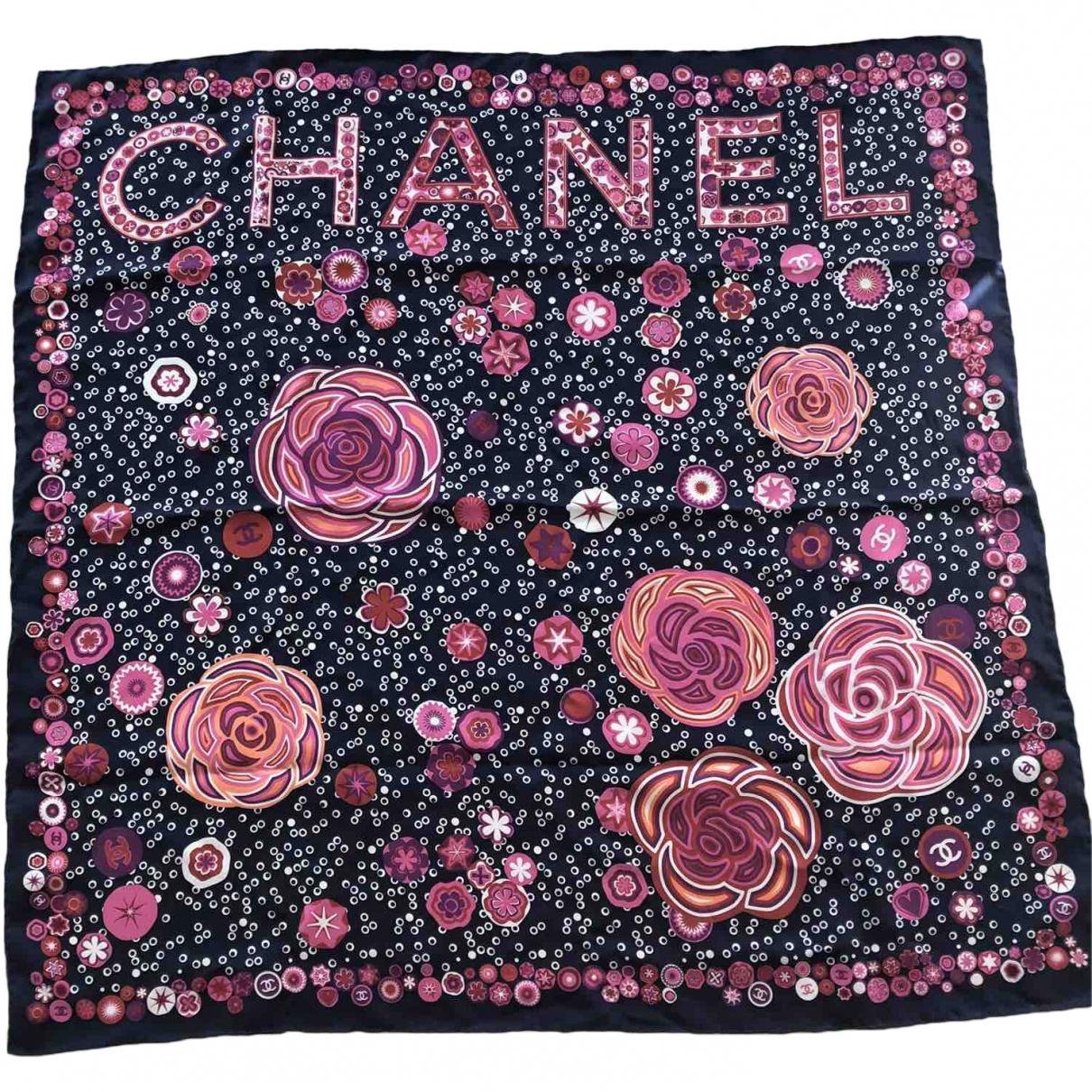 Chanel \N Multicolour Silk scarf for Women \N