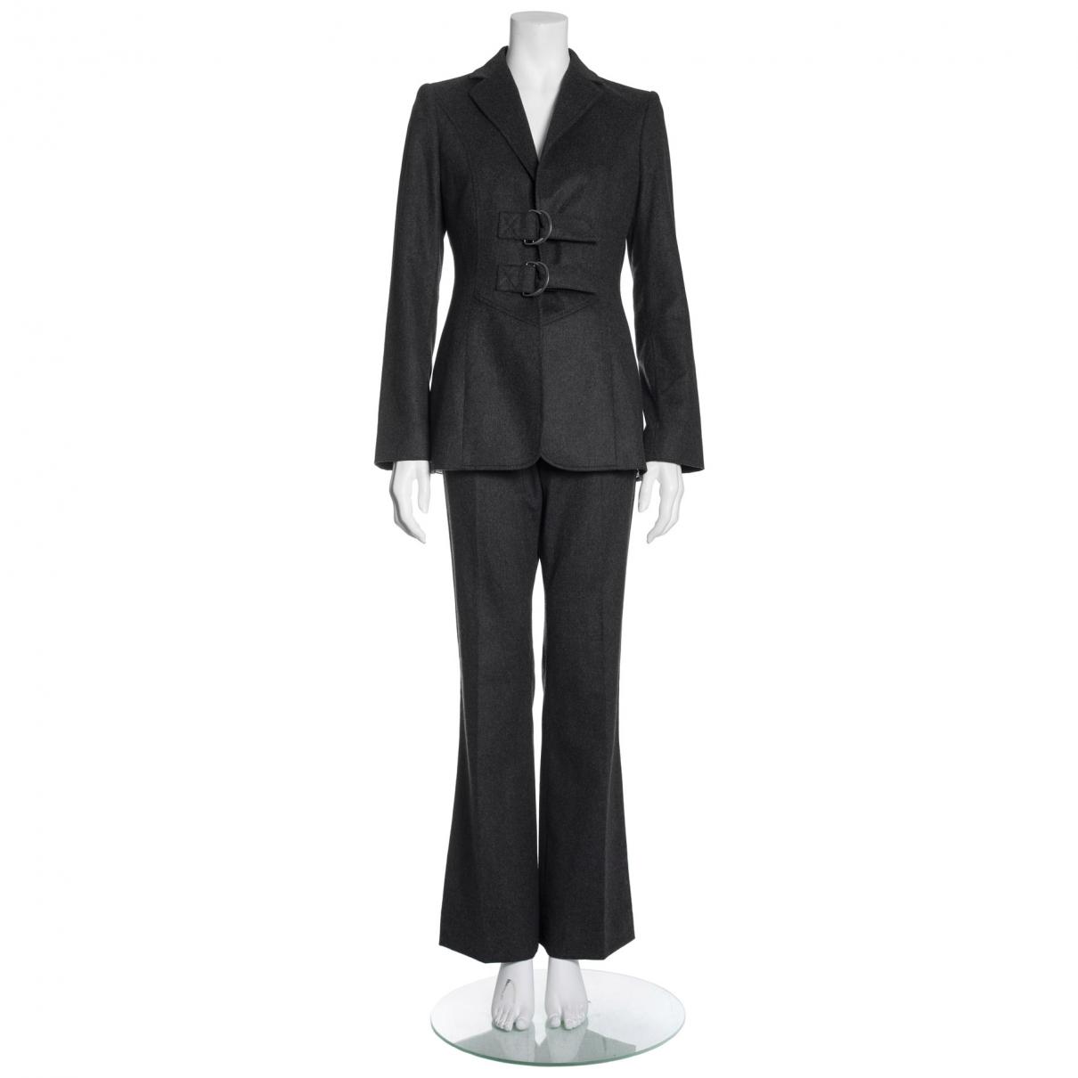 Valentino Garavani - Combinaison   pour femme en laine - gris
