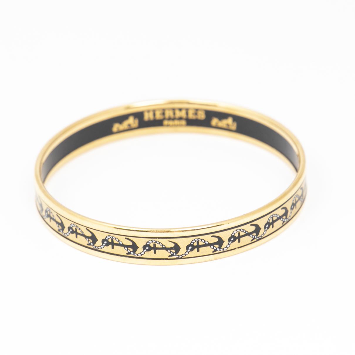 Hermes - Bracelet   pour femme en autre - noir