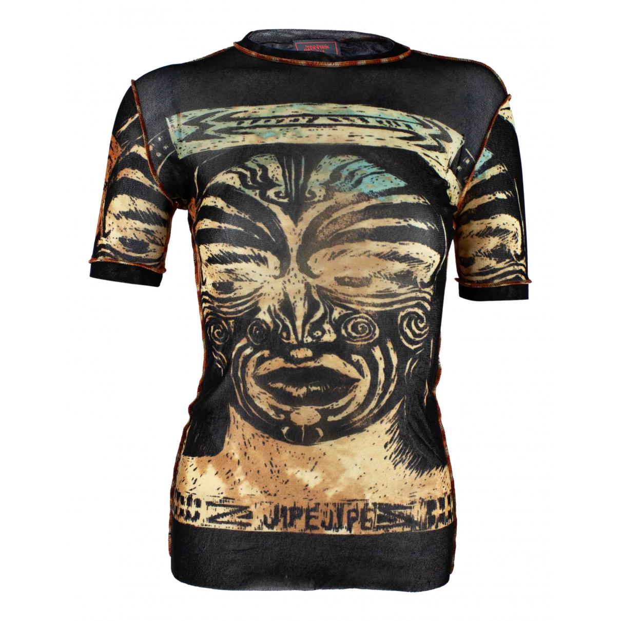 Jean Paul Gaultier \N Top in  Schwarz Synthetik