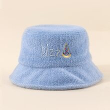 Embroidery Detail Bucket Hat