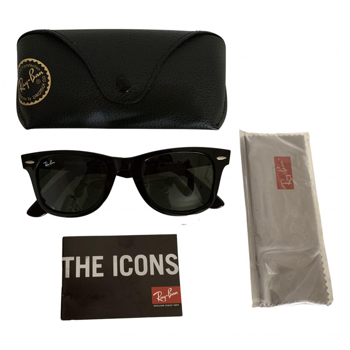 Ray-ban Original Wayfarer Sonnenbrillen in  Schwarz Kunststoff