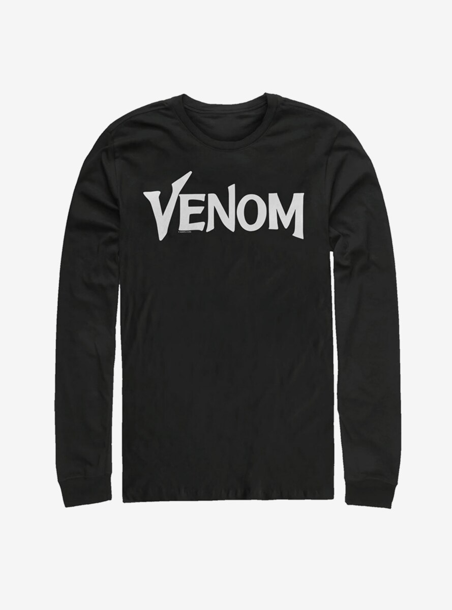 Marvel Venom Film Bold Logo Long Sleeve T-Shirt