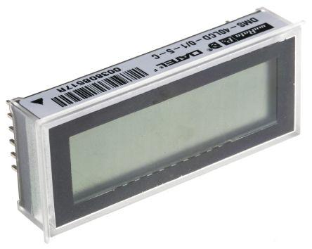 Murata Power Solutions Digital Voltmeter DC, LCD Display 4.5-Digits, 53.8 x 22.3 mm