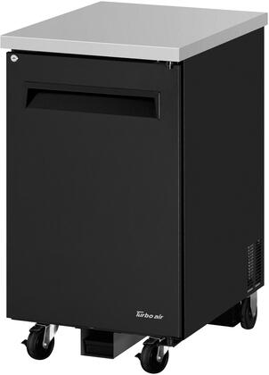 TBB-1SB-N6 24 Super Deluxe Series Back Bar with 7.76 cu. ft. Capacity  Hydrocarbon Refrigerants  Forced Air Cooling System and LED Interior Lighting