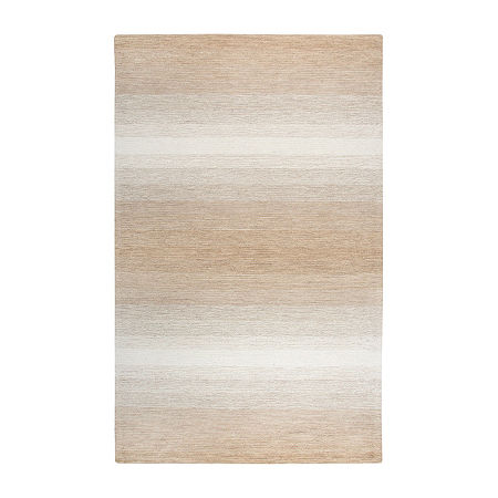 Rizzy Home Dune Collection Harden Hand-Tufted Ombre Area Rug, One Size , Beige