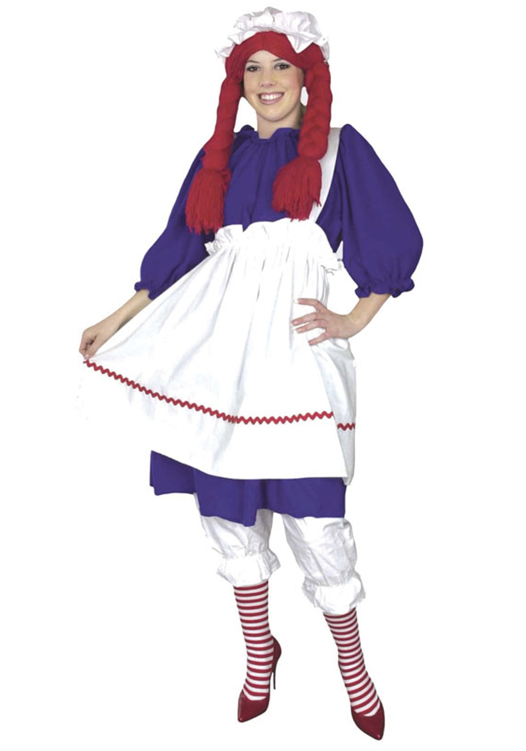 Plus Size Rag Doll Doll Costume
