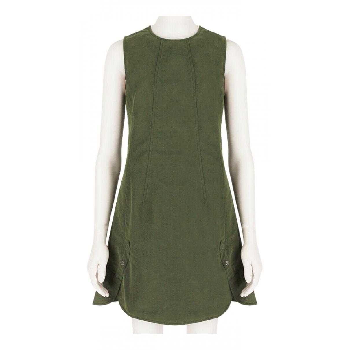 Alexander Wang - Robe   pour femme en coton - vert