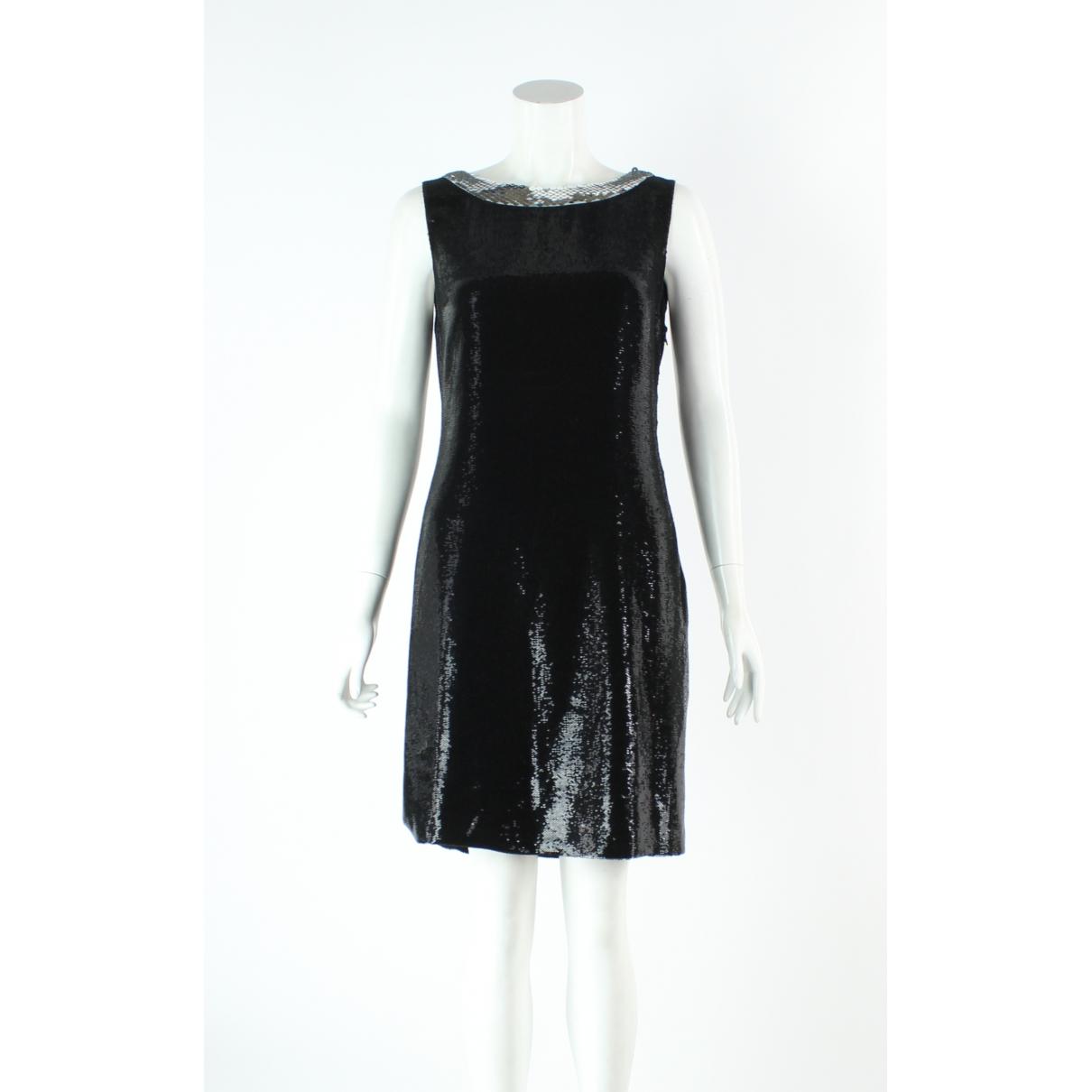 Prada \N Kleid in  Schwarz Seide