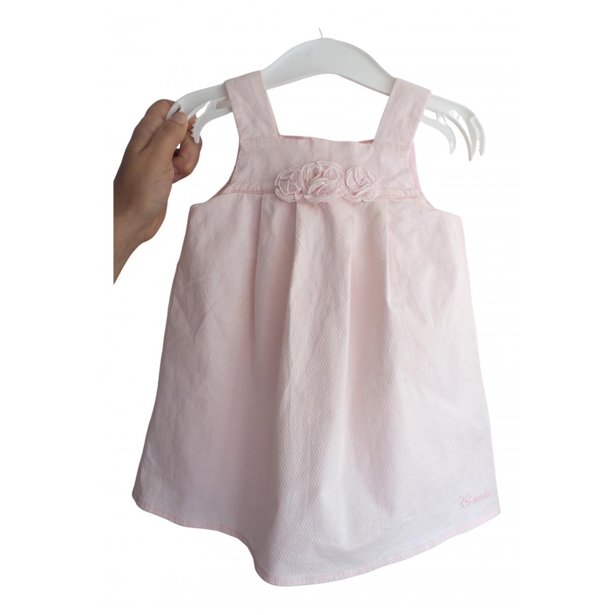 Escada - Robe    pour enfant en coton - rose