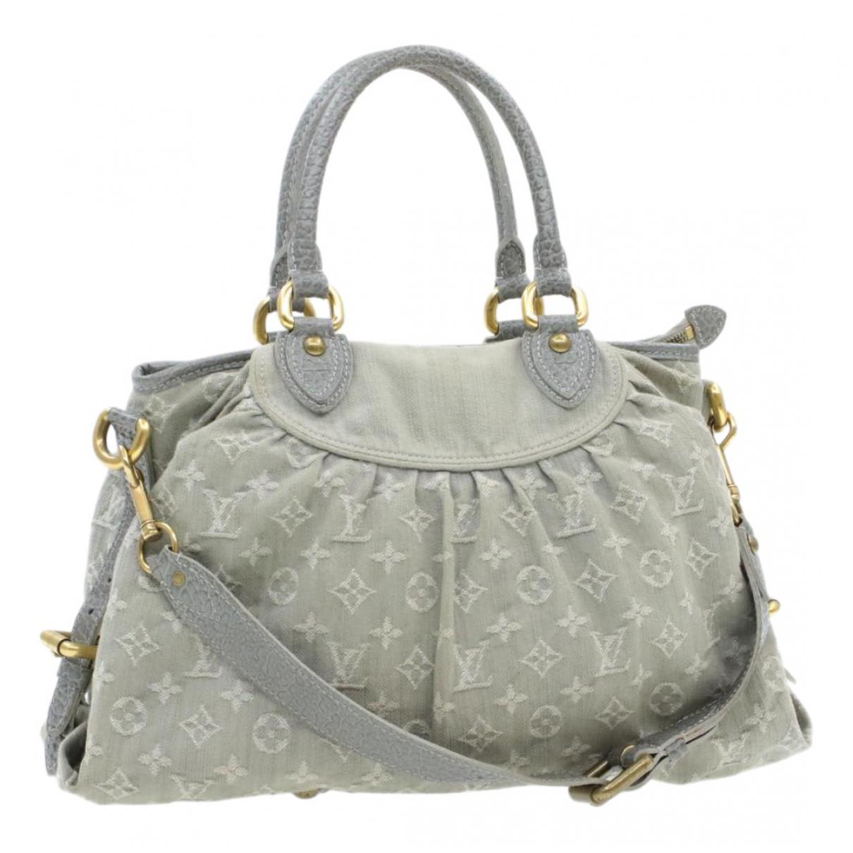 Louis Vuitton \N Grey Cloth handbag for Women \N