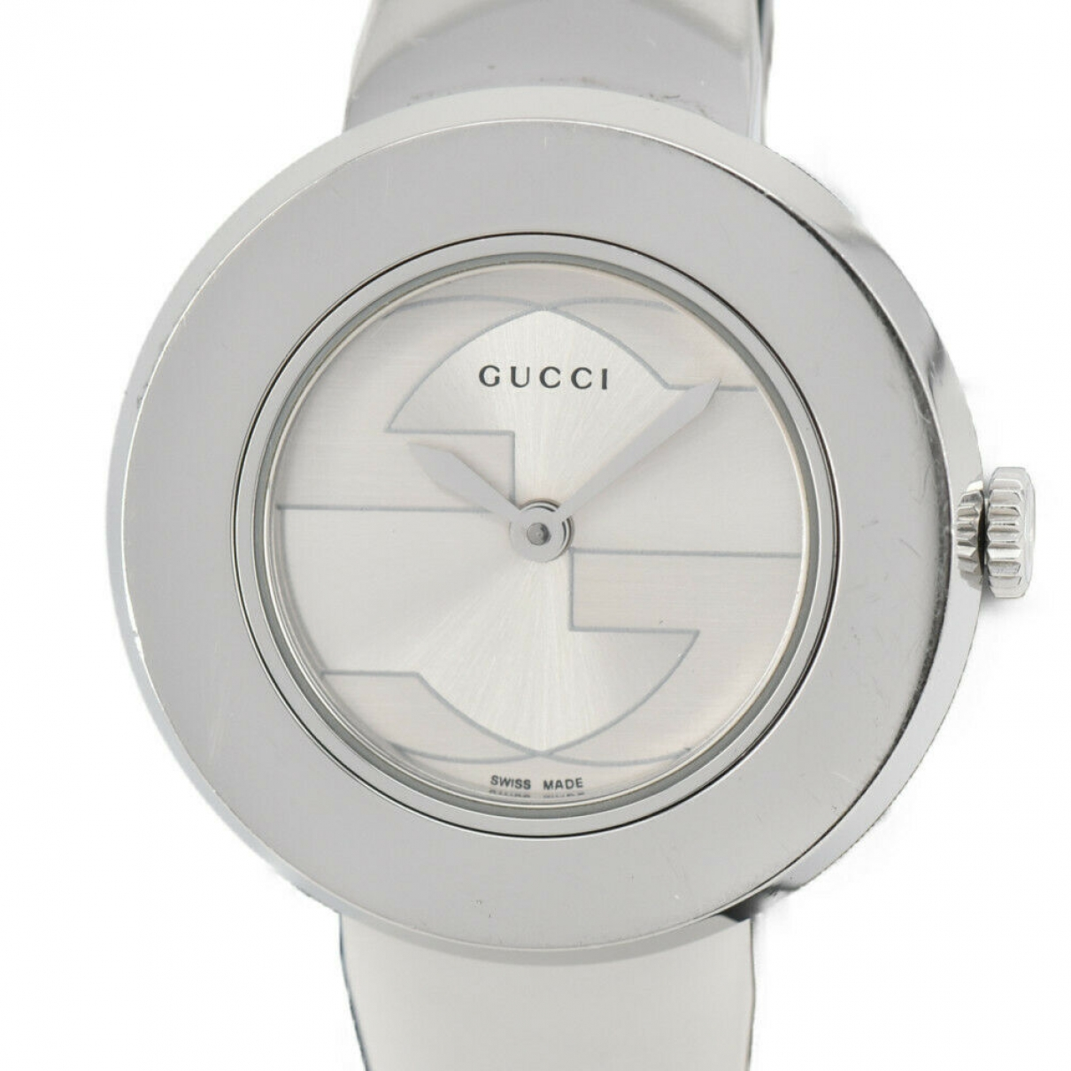 Gucci \N Uhr in  Silber Stahl