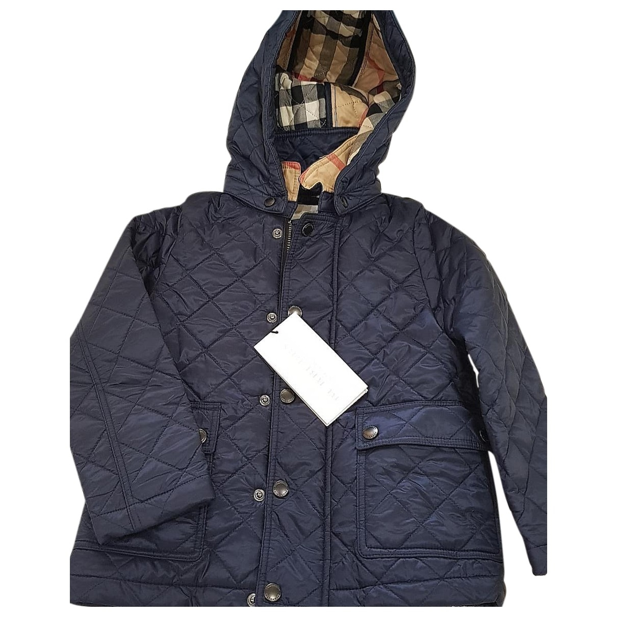 Burberry \N Navy jacket & coat for Kids 3 years - up to 98cm FR