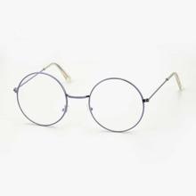 Men Round Frame Eyeglasses