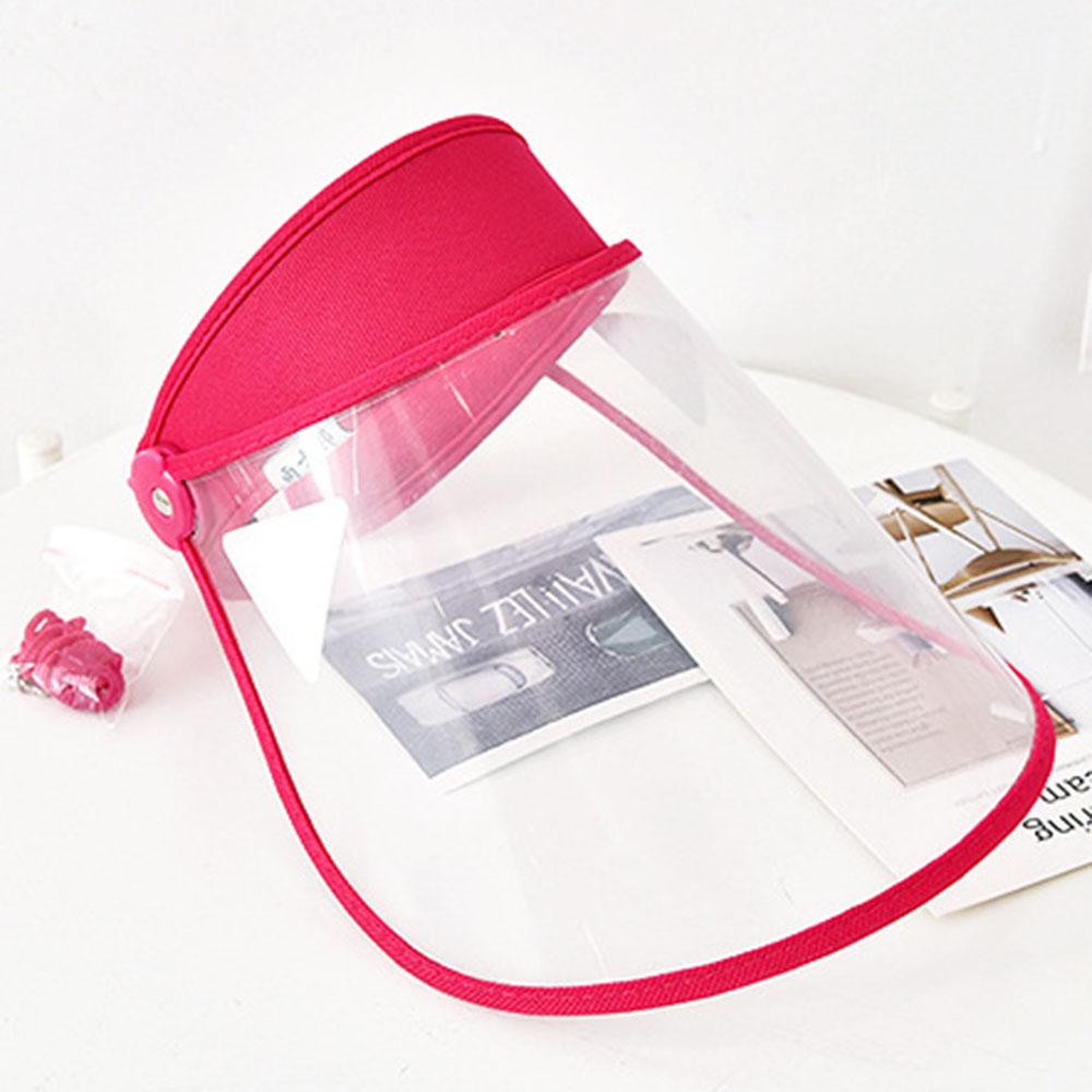 Anti-droplets Rain Caps Wind Masks Double Protective Caps Plastic