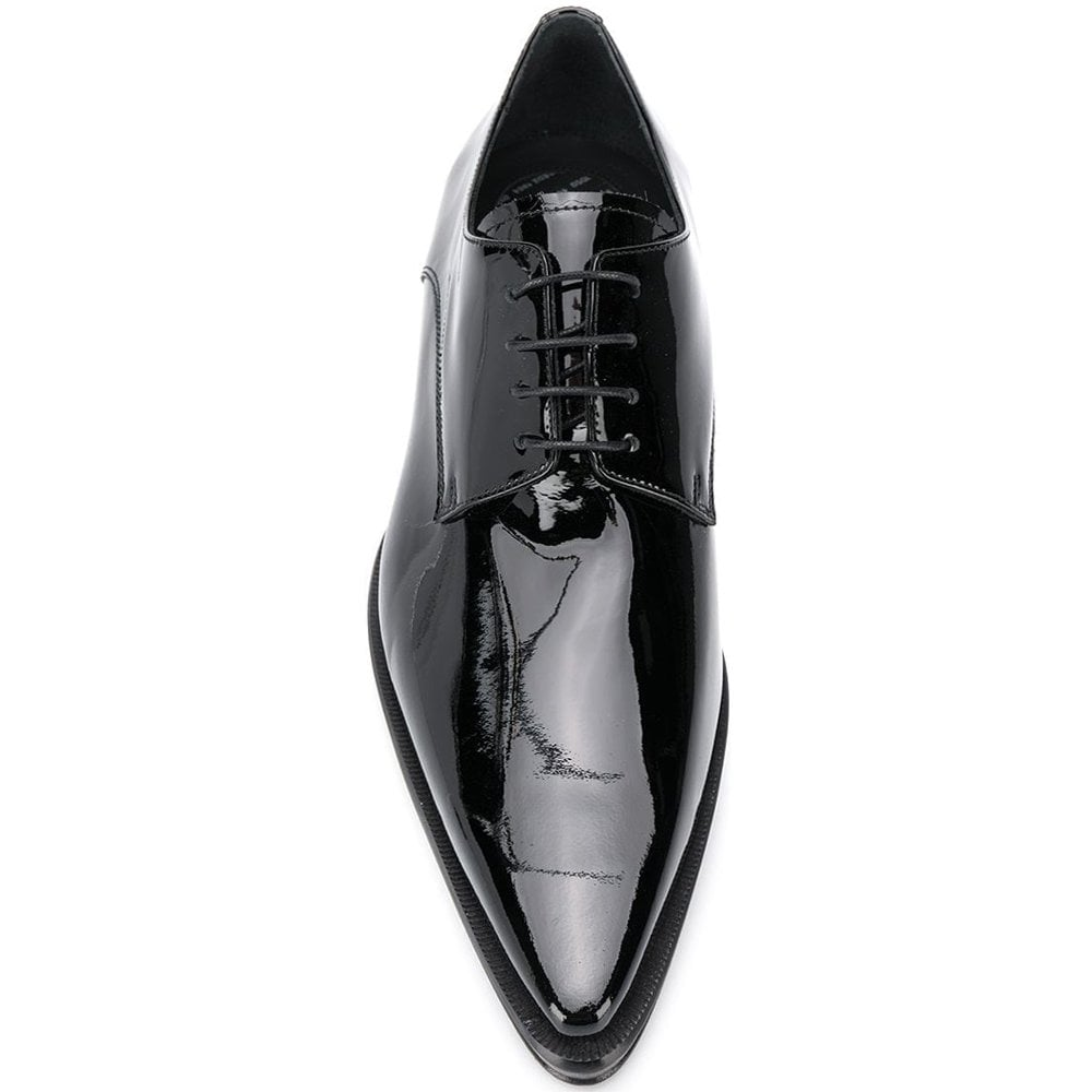 DSquared2 Patent Leather Loafers Colour: BLACK, Size: 6