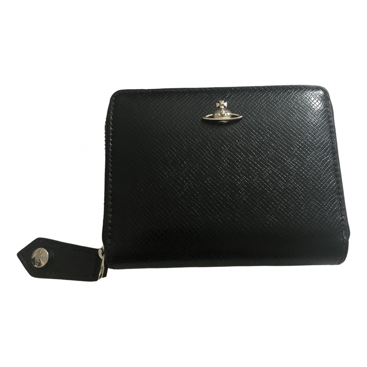 Vivienne Westwood \N Black Leather Purses, wallet & cases for Women \N