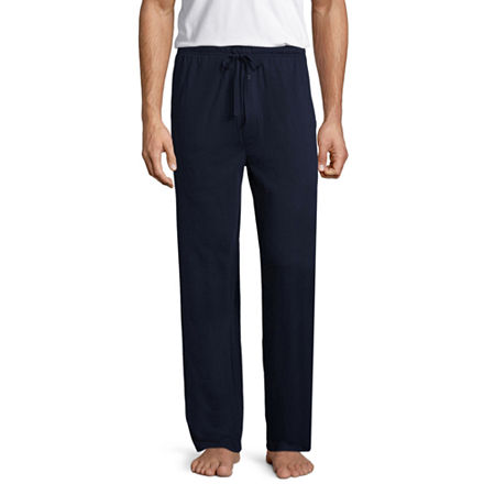Stafford Men's Knit Pajama Pants - Big and Tall, 2x-large , Blue