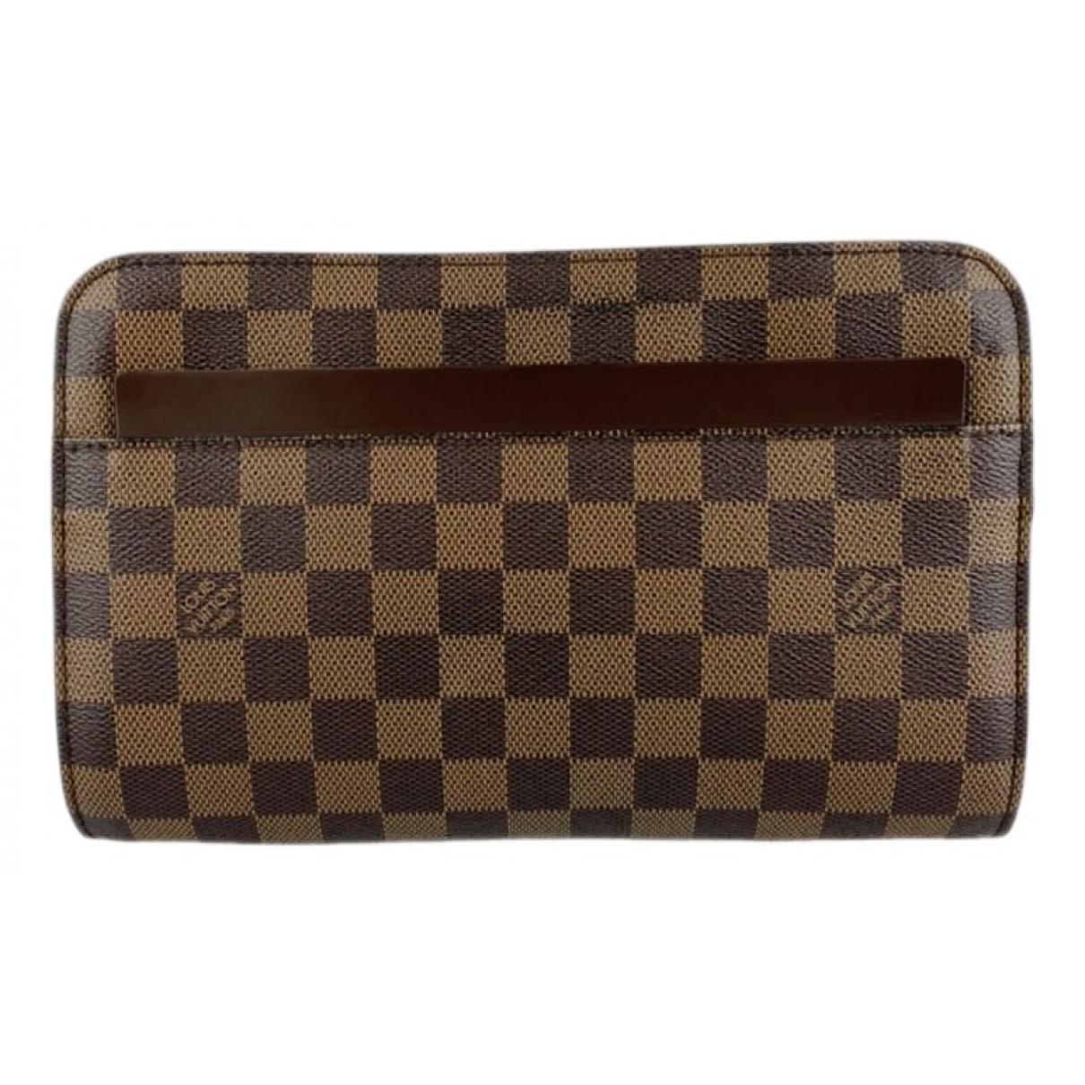 Louis Vuitton - Sac   pour homme en toile - marron