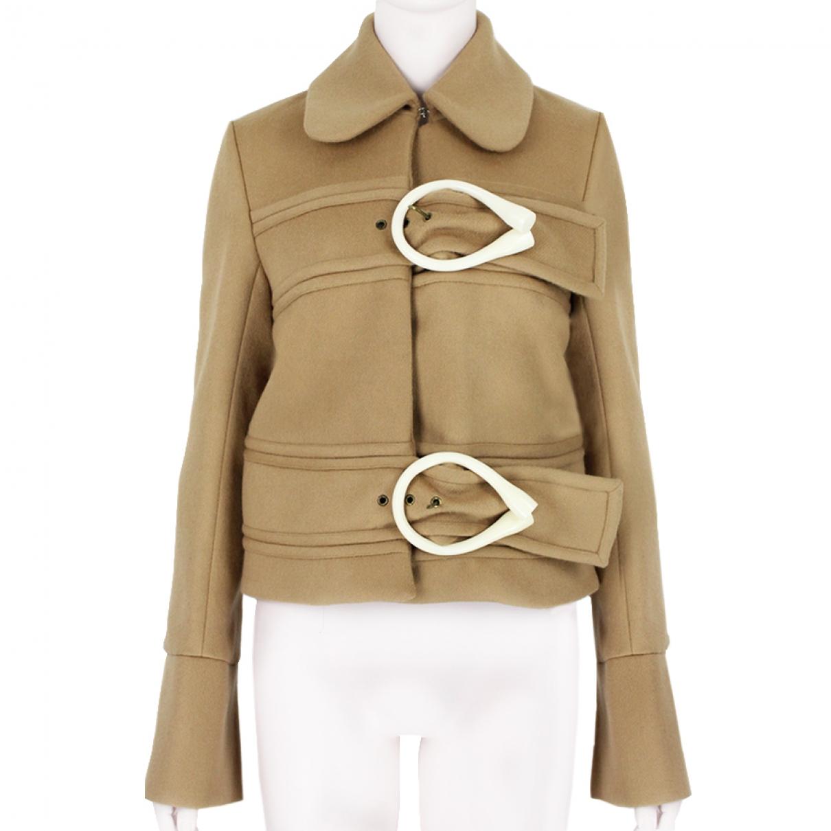 J.w. Anderson \N Brown Wool jacket for Women 10 UK