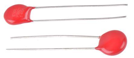 Littelfuse , ZA Metal Oxide Varistor 1.35nF 2.5A, Clamping 79V, Varistor 43V (25)