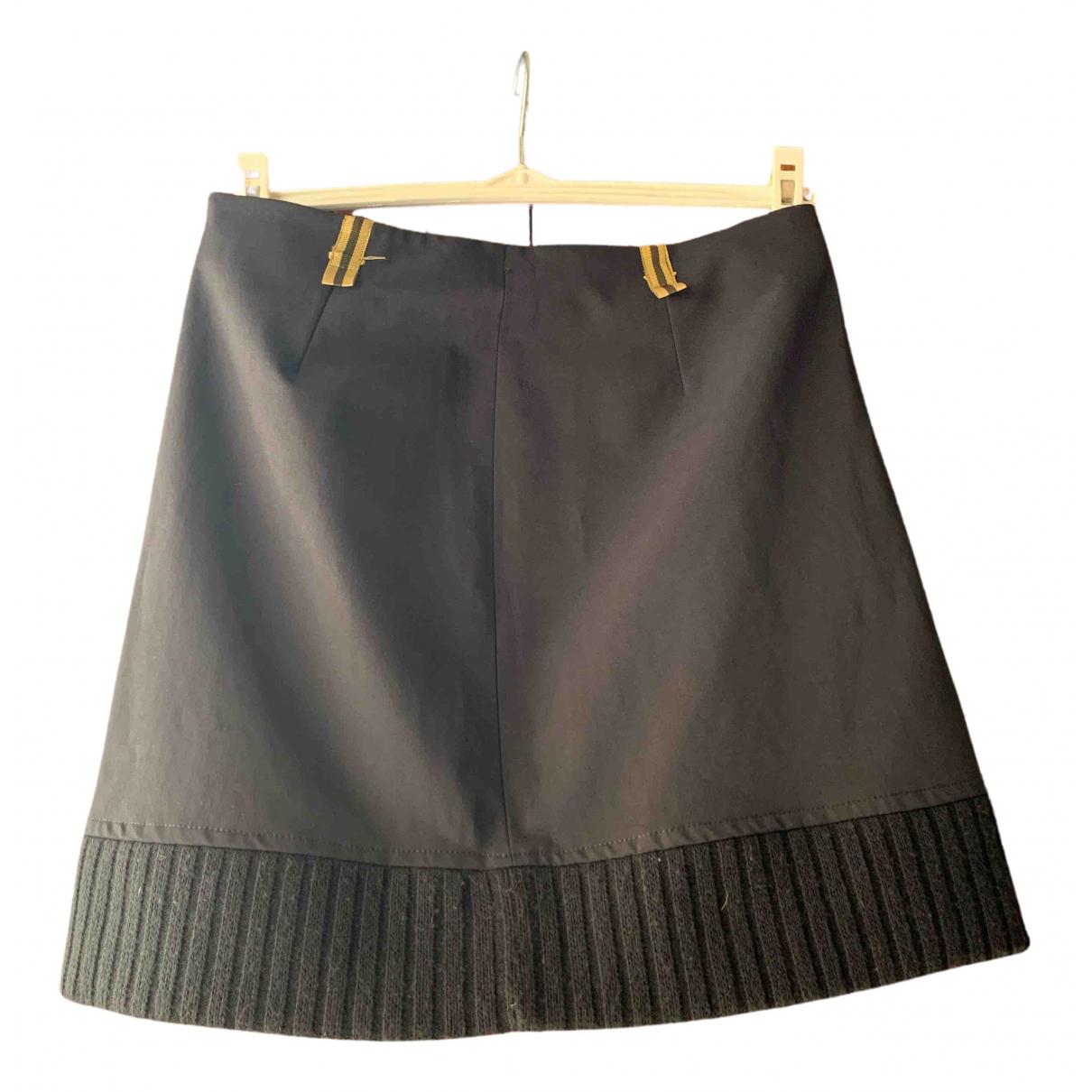 Non Signé / Unsigned N Black skirt for Women M International
