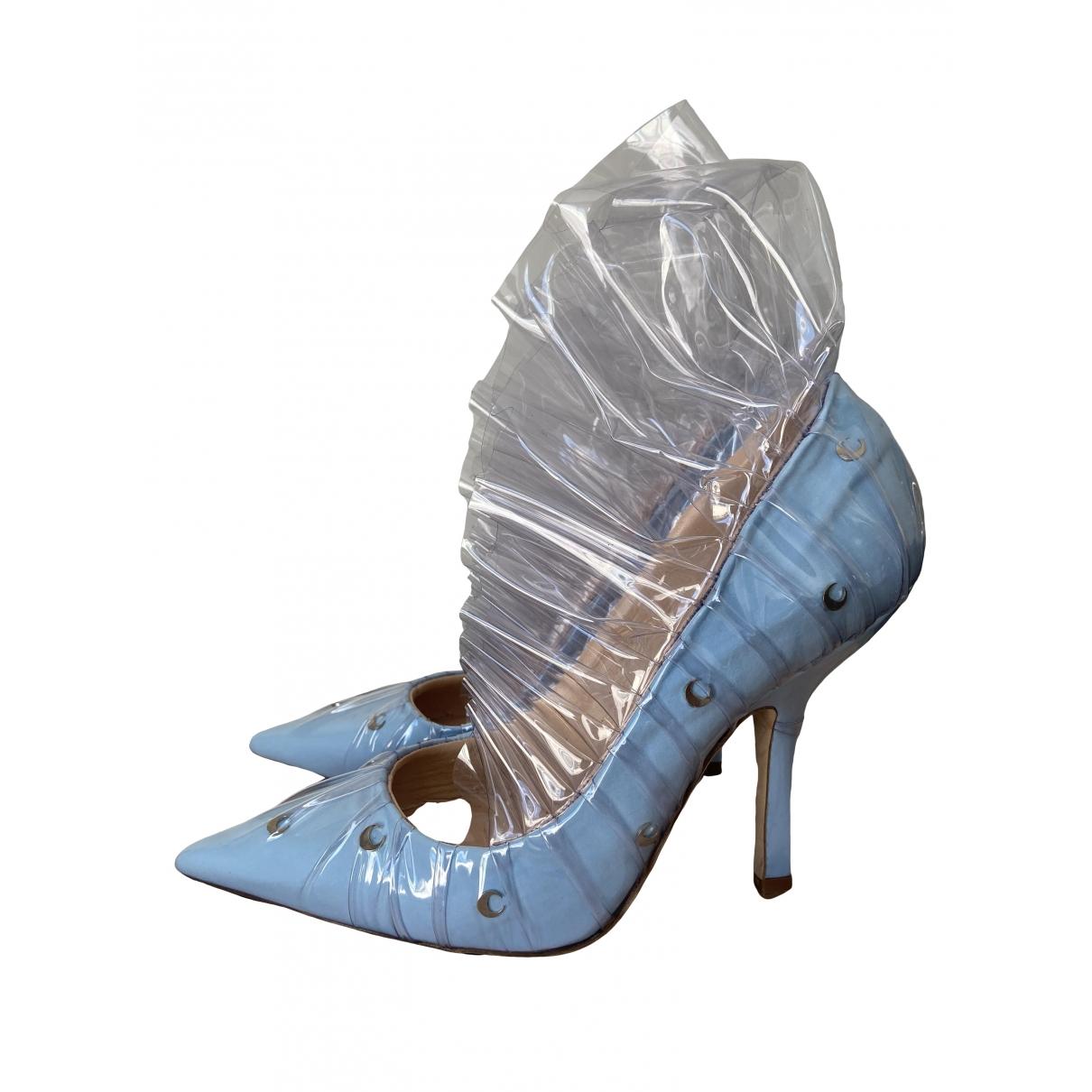Midnight 00 - Escarpins   pour femme en suede - bleu