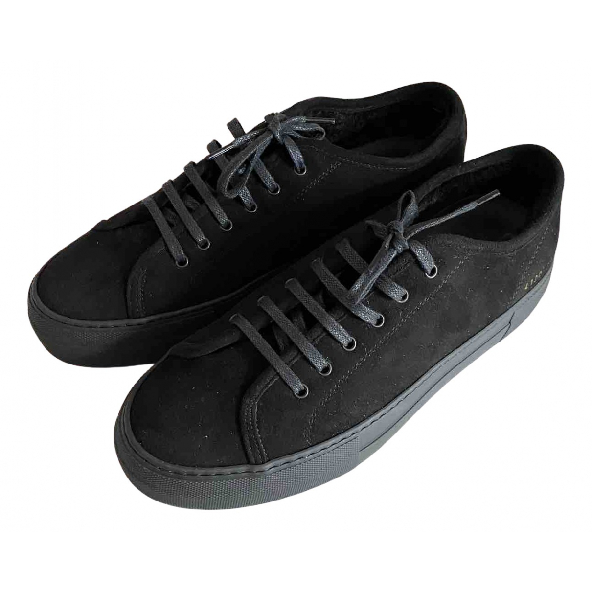 Common Projects \N Black Suede Trainers for Women 38 EU