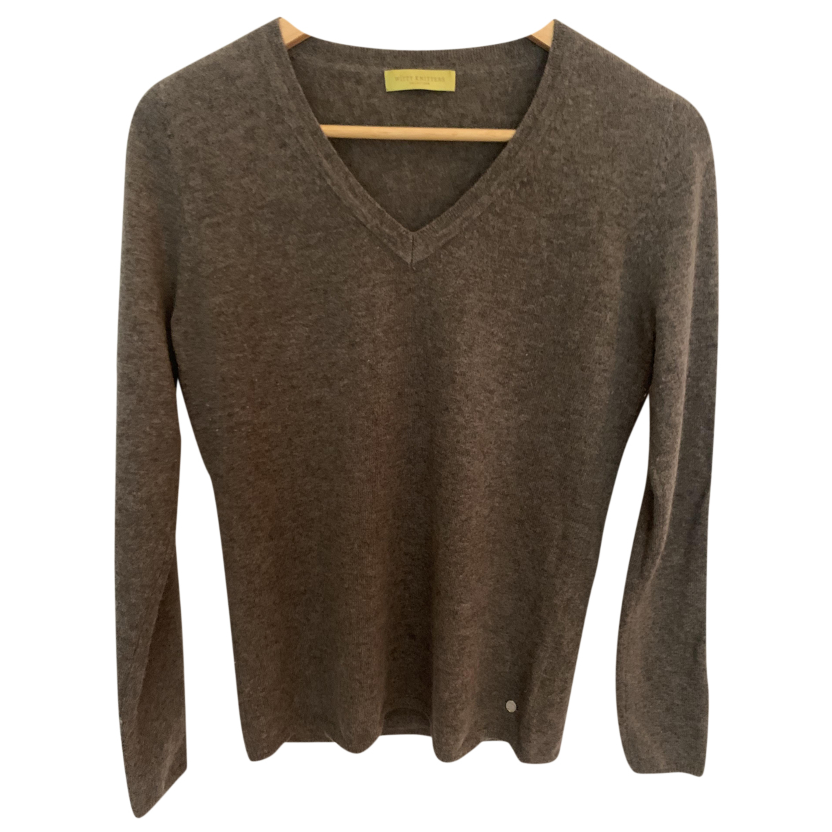 Non Signé / Unsigned N Brown Cashmere Knitwear for Women M International